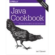Java Cookbook by Darwin, Ian F., 9781449337049