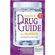 Davis's Drug Guide for Nurses by Vallerand, April Hazard, Ph.D., RN; Sanoski, Cynthia A.; Deglin, Judith Hopfer, 9780803657052