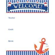 S.s. Discover Welcome Chart by Carson-Dellosa Publishing Company, Inc., 9781483837055