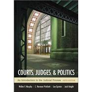 Courts, Judges, and Politics by Murphy, Walter; Pritchett, C. Herman; Epstein, Lee; Knight, Jack, 9780072977059