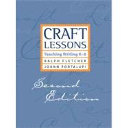 Craft Lessons by Fletcher, Ralph J., 9781571107060