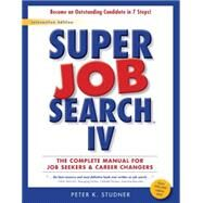 Super Job Search IV by Studner, Peter K., 9780938667063