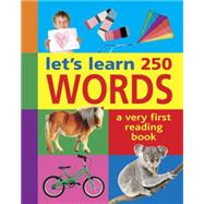 let's learn 250 Words by Armadillo Books, 9781861477064