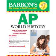Barron's AP World History by McCannon, John, 9780764147067