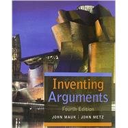 Inventing Arguments (with 2016 MLA Update Card) by Mauk, John; Metz, John, 9781337287067