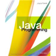 Java Programming by Farrell, Joyce, 9781337397070