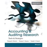 Accounting & Auditing Research: Tools & Strategies by Weirich, 9781118027073
