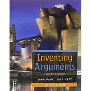 Inventing Arguments, Brief (with 2016 MLA Update Card) by Mauk, John; Metz, John, 9781337287074