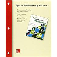 Loose-Leaf for Essentials of Contemporary Management by Jones, Gareth; George, Jennifer, 9781259737077