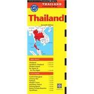 Periplus TravelMaps Thailand by Periplus Editions (HK) Ltd., 9780794607081