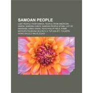 Samoan People by , 9781157007081