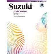 Viola Part Volume 4 by Suzuki, Shinichi, 9780739097083