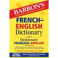 Barron's French-english Dictionary by Martini, Ursula, 9781438007083