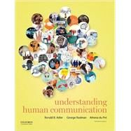 Understanding Human Communication by Adler, Ronald; Rodman, George; du Pré, Athena, 9780190297084