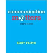 Communication Matters with Connect Access Card by Floyd, Kory, 9781259657085