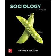 Loose Leaf Sociology in Modules Loose Leaf by Schaefer, Richard T., 9780078027086