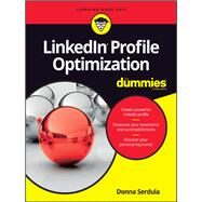 Linkedin Profile Optimization for Dummies by Serdula, Donna, 9781119287087