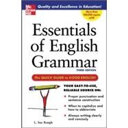 Essentials of English Grammar A Quick Guide To Good English by Baugh, L., 9780071457088