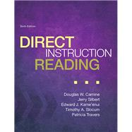 Direct Instruction Reading, Enhanced Pearson eText with Loose Leaf Version -- Access Card Package by Carnine, Douglas W.; Silbert, Jerry; Kame'enui, Edward J.; Slocum, Timothy A.; Travers, Patricia A., 9780133827088