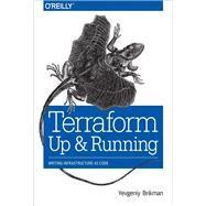 Terraform by Brikman, Yevgeniy, 9781491977088