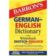 Barron's German-english Dictionary by Martini, Ursula, 9781438007090