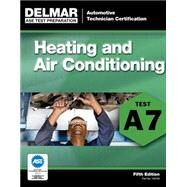 ASE Test Preparation - A7 Heating and Air Conditioning 9781111127091N