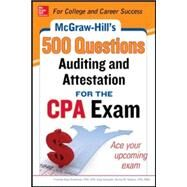 McGraw-Hill Education 500 Auditing and Attestation Questions for the CPA Exam by Stefano, Denise; Surett, Darrel, 9780071807098
