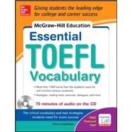 McGraw-Hill Education Essential Vocabulary for the TOEFL� Test with Audio Disk by Engelhardt, Diane, 9780071827102