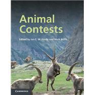 Animal Contests by Edited by Ian C. W. Hardy , Mark Briffa, 9780521887106