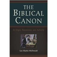 The Biblical Canon by McDonald, Lee Martin, 9780801047107