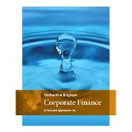Corporate Finance by Ehrhardt/Brigham, 9781305637108