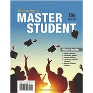 Becoming a Master Student by Ellis, Dave, 9781337097109