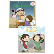 Christmas/Easter Flip-Over Book by Kovacs, Victoria; Krome, Mike, 9781433687112