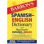 Barron's Spanish-english Dictionary by Martini, Ursula, 9781438007113