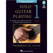 Solo Guitar Playing by Noad, Frederick, 9780825637117