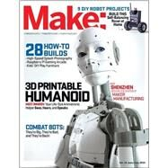 Make: Volume 45: Robot Workshop (Make: Technology on Your Time) by Babler, Jason; Nilsen, Andrew J. (CON); Peryer, Krista (CON); Burg, Thomas N. (CON); Gottwald, Johannes (CON), 9781457187117