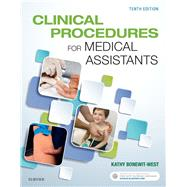 Clinical Procedures for Medical Assistants + Evolve by Bonewit-West, Kathy, 9780323377119
