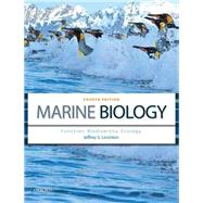 Marine Biology Function, Biodiversity, Ecology by Levinton, Jeffrey S., 9780199857128