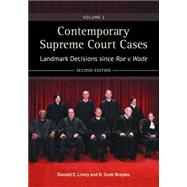 Contemporary Supreme Court Cases by Lively, Donald; Broyles, Scott, 9781440837128