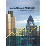 Managerial Economics in a Global Economy by Salvatore, Dominick, 9780199397129