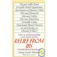 Relief from IBS by SHIMBERG, ELAINE FANTLE, 9780345367129
