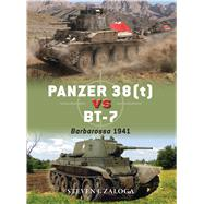 Panzer 38(t) vs BT-7 Barbarossa 1941 by Zaloga, Steven J.; Laurier, Jim, 9781472817136