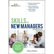Skills for New Managers by Stettner, Morey, 9780071827140