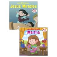 Jesus' Miracles/Martha Flip-Over Book by Kovacs, Victoria; Krome, Mike; Ryley, David, 9781433687143