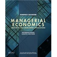 Managerial Economics in a Global Economy by Salvatore, Dominick, 9780199397150