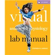 Visual Anatomy & Physiology Lab Manual, Cat Version Plus MasteringA&P with eText -- Access Card Package by Sarikas, Stephen N., 9780321817150