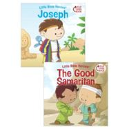 Joseph/The Good Samaritan Flip-Over Book by Kovacs, Victoria; Krome, Mike, 9781433687150