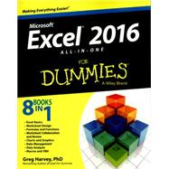 Microsoft Excel 2016 by Harvey, Greg, Ph.d., 9781119077152