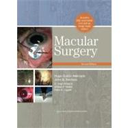 Macular Surgery by Quiroz-Mercado, Hugo; Kerrison, John B.; Alfaro, D. Virgil; Mieler, William F.; Liggett, Peter E., 9780781797153