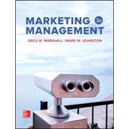 MARKETING MANAGEMENT by Unknown, 9781259637155